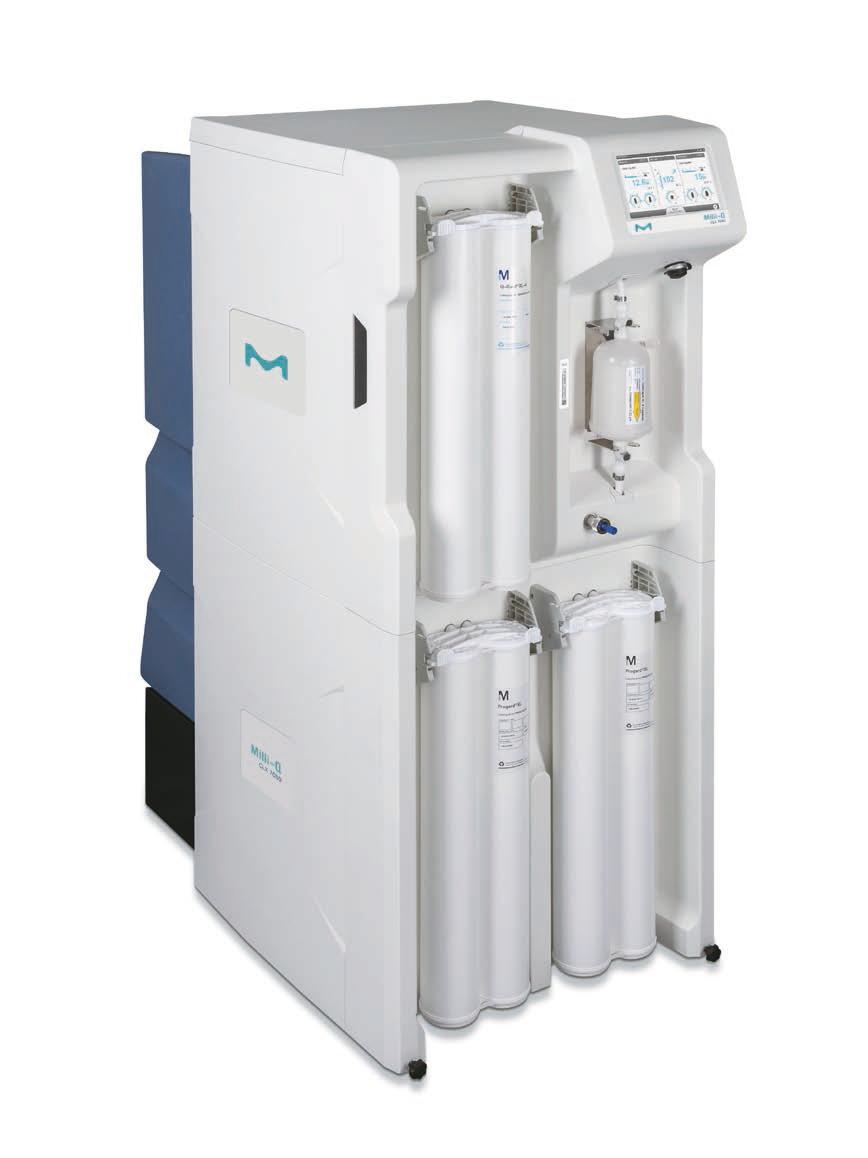 高流量elix Ro Edi 方式純水製造装置 Milli Q Clx 7080 ヤマト科学株式会社
